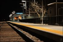 Lawrence Amtrak Platform